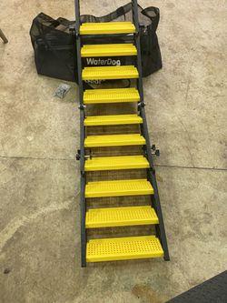 Pontoon Boat Ladder, dog water step. WAG Boarding Step for Sale in Oregon City,  OR