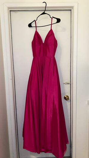 HOT PINK DRESS Size 0-2 for Sale in Riverside, CA