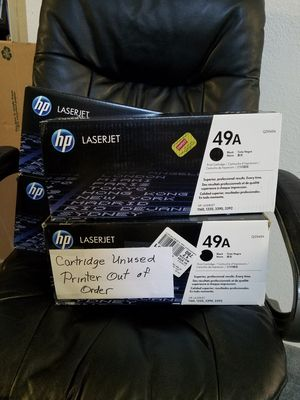 HP Laserjet 49A/Q5949A printer cartridge for Sale in Albuquerque, NM