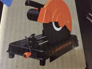 """14 """" abrasive cut off saw for Sale in Schaumburg, IL"""