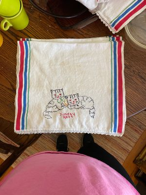 Vintage days of the week hand towels for Sale in Concord, NC