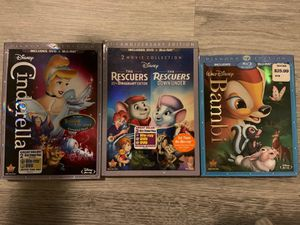 Disney Blu-rays For Sale!! for Sale in Long Beach, CA
