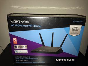 Netgear NightHawk AC1900 Smart WiFi Router for Sale in Brier, WA