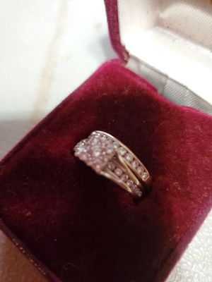 Engagement ring, wedding band and man's wedding band for Sale in Anderson, SC