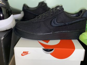 Nike Airforce 1 Stussy Black Colorway Size 10.5 for Sale in Silver Spring,  MD
