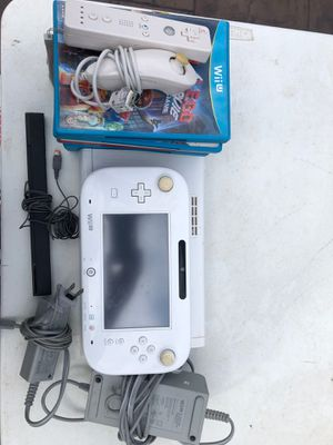 Nintendo Wii U, 9 games, joystick controller for Sale in Dallas, TX
