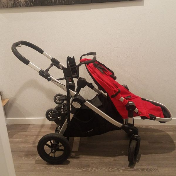 City Select Double Stroller With Accessories