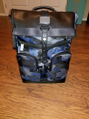 Tumi London Roll Top backpack - brand new for Sale in Gilbert, AZ