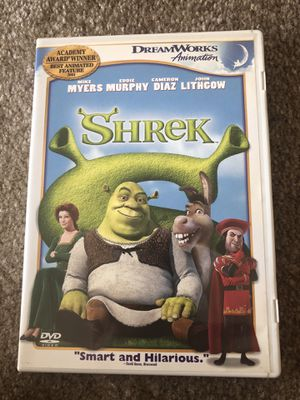 Shrek DVD for Sale in Placentia, CA