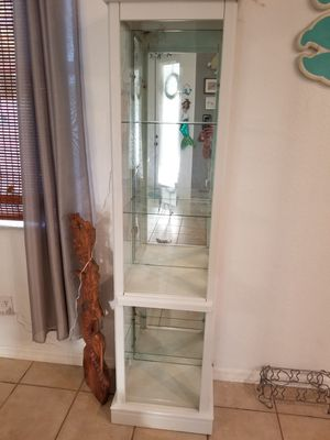 Lighted curio cabinet for Sale in Cape Coral, FL