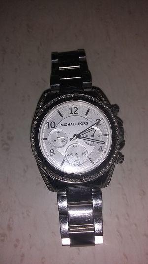 Micheal Kors MK5165 Blair chronograph ladies watch - silver for Sale in Longview, TX