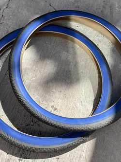 26 Inch Duro Blue Wall Tires , Beach Cruiser Bmx for Sale in Culver City,  CA