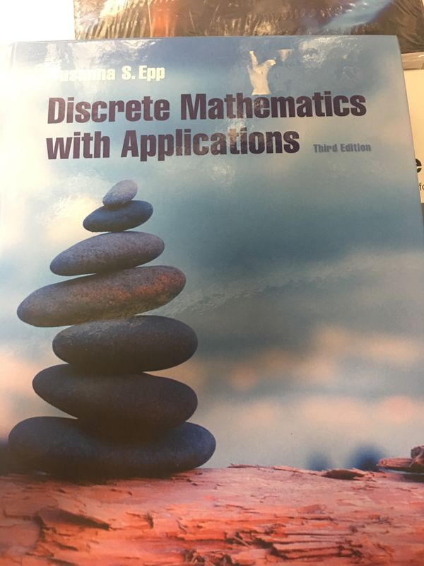 Discrete Mathematics with Applications college textbook