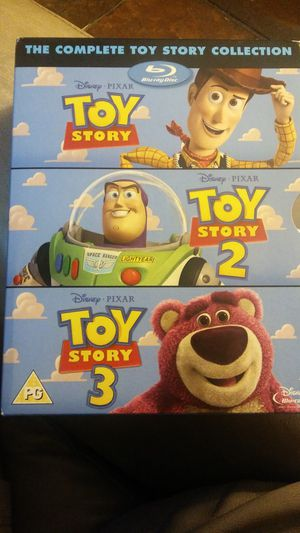 All 3 Toy Story movies on Blu-ray for Sale in Haines City, FL