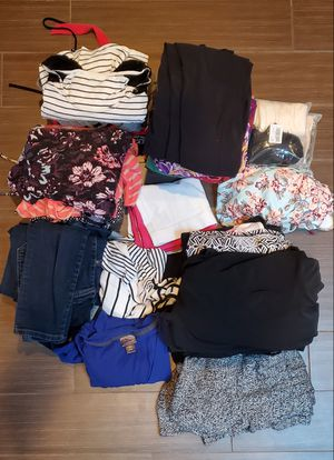 Maternity clothes, sizes medium and large for Sale in Derby, NY