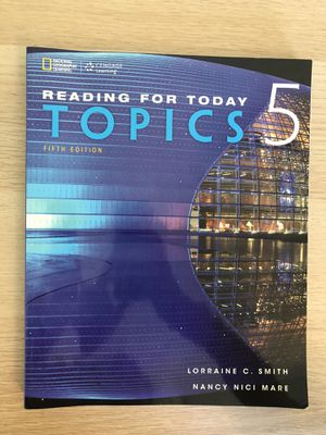 Reading for today Topics 5 for Sale in Columbia, SC