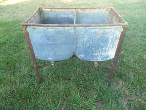Washtubs on stand for Sale in Inwood, WV