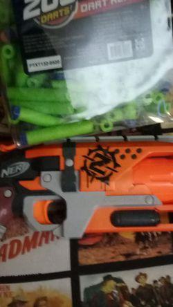 Nerf Zombie Hammer Plus Xxxtra Bullets for Sale in Tempe,  AZ