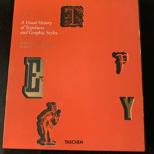 Taschen | A visual history of typefaces and graphics styles for Sale in Los Angeles, CA