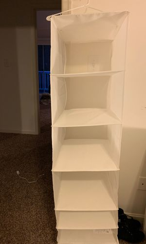 Closet organizer 46 inches for Sale in Chesapeake Beach, MD