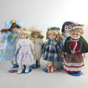 Lot of 6 Vintage Porcelain Dolls (1022522) for Sale in South San Francisco, CA