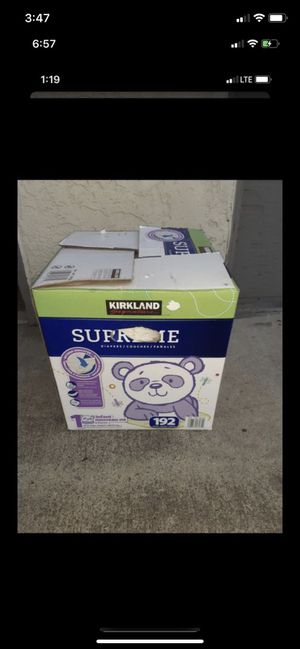 Kirkland Baby Diapers for Sale in Oceanside, CA