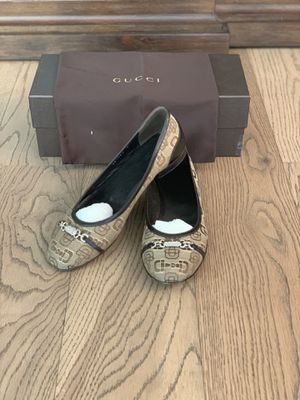 Gucci women's shoes loafers flats size 6.5 for Sale in El Monte, CA