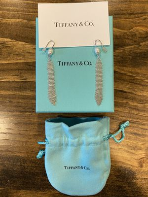 Tiffany - Elsa Peretti Mesh Tassel Earrings for Sale in Spring Hill, TN