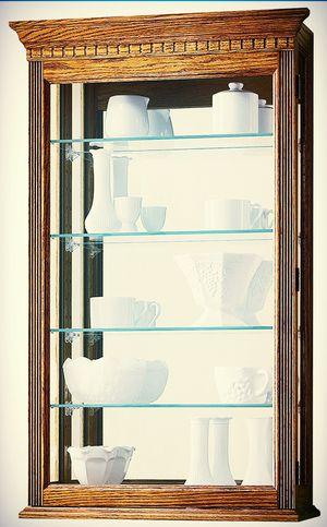 Howard Miller oak Collectors cabinet for Sale in Brandon, FL
