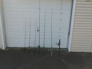 Fishing poles for Sale in Yalesville, CT