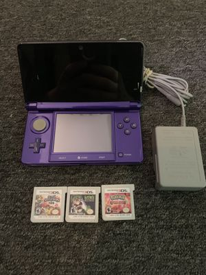 Nintendo 3DS Bundle With 3 Games for Sale in Lakewood, OH