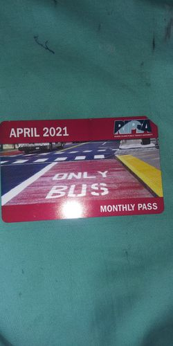 APRIL MONTHLY BUS PASS for Sale in North Providence, RI
