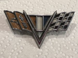 1967 GM Chevy Camaro V Flags Emblem Badge Factory Original O.E Part!!! for Sale in Plainfield, IL