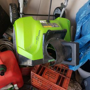 Electric 20in Snowblower for Sale in Norwalk, CT