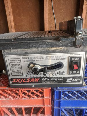"Skil Table Saw 8.25"" blade for Sale in Willoughby, OH"