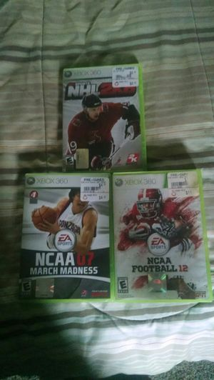 Xbox 360 games for Sale in Montgomery, PA