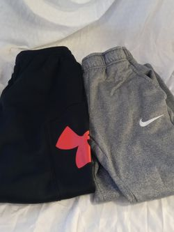 Nike under armour boys pants size large Under armour cold gear size large Nike size large for Sale in Huttonsville,  WV