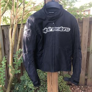 Alpinestars motorcycle jacket SMALL for Sale in Herndon, VA