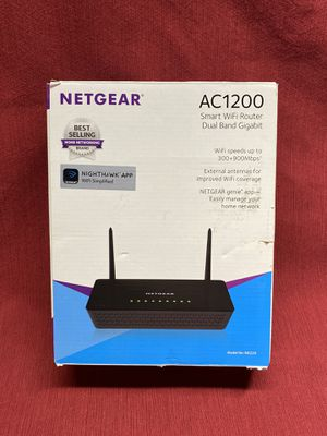 NETGEAR AC1200 Smart WiFi Router for Sale in Placentia, CA