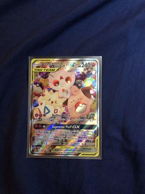 Pokémon Topegi & Cleffa & Igglybuff GX alternate promo card 143a/236 for Sale in Tacoma, WA