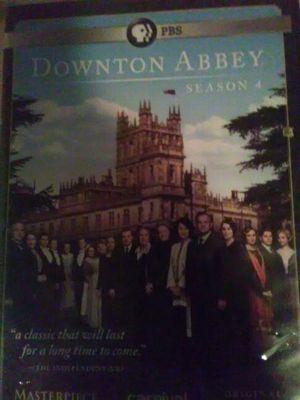 Downtown Abbey season 4 Masterpiece original UK Edition PBS for Sale in Seattle, WA