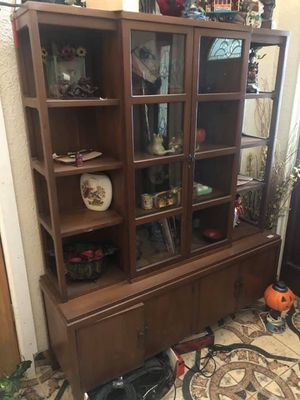 Large Vintage MCM Cabinet for Sale in Rosharon, TX