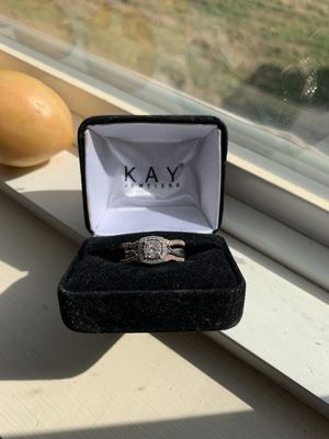 Engagement ring with wedding band set for Sale in Wichita, KS