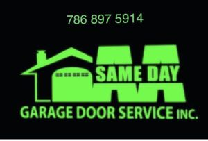 Garage doors install and. Services for Sale in Miami, FL