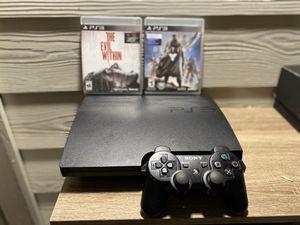 PS3 , 2 juegos y control for Sale in Irving, TX