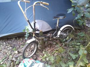 Portage cycle fold-up bike vintage for Sale in Dade City, FL