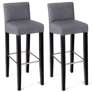 2 Pcs Fabric Bar Stools Pub Chairs for Sale in Riverside, CA