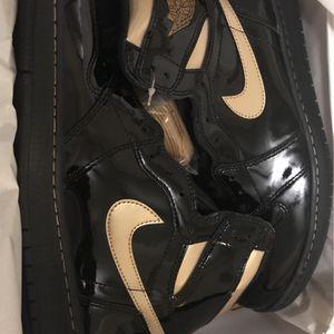 "Jordan 1 High OG ""Black/Gold"" Men's Size 12 for Sale in Atlanta, GA"