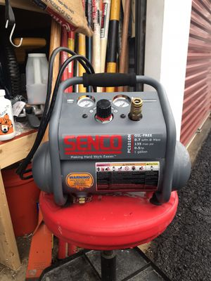 SENCO 1 Gal. 1/2 HP Portable Pancake Electric Air Compressor for Sale in North Springfield, VA