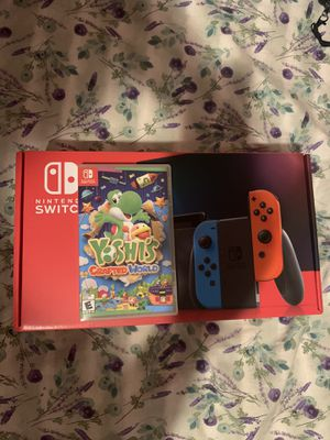"""Nintendo switch with game """" Factory sealed """" for Sale in Miami, FL"""